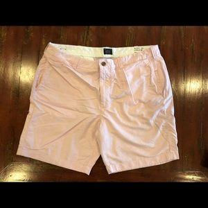 Jcrew men's Stanton short, size 38, pink